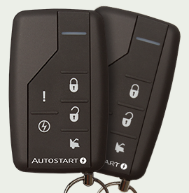 Autostart 1-Way Remote Start and Security System - Model AS-6280