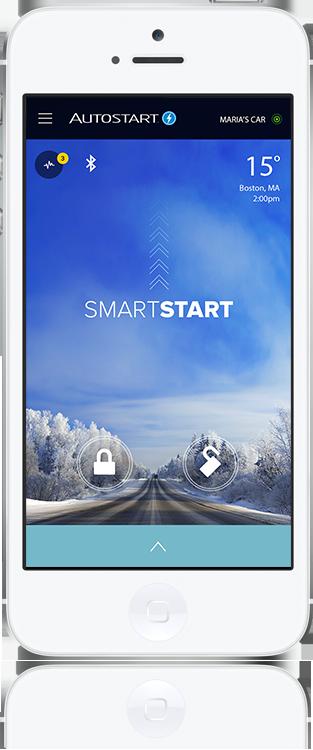 Autostart SmartStart Car Control