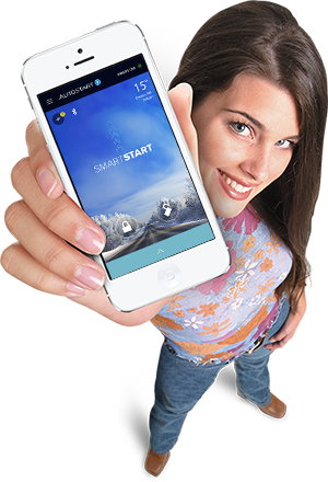 Autostart SmartStart Girl with Phone